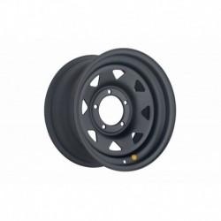 Диск усиленный УАЗ стальной черный (матовый) 5x139,7 8xR16 d110 ET0 (треуг. мелкий)
