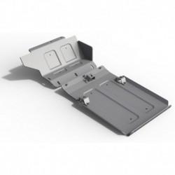 Защита картера LADA 4x4 ВАЗ 2121 (2001-2017), 2 части, 6мм, алюминий