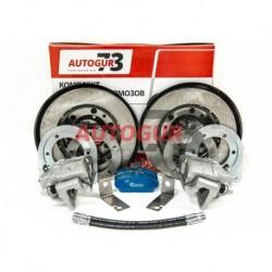 Тормоза дисковые задние УАЗ-2360  Профи  (суп.ГАЗ)
