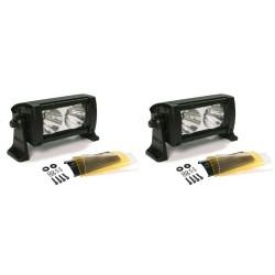Фара Wurton светодиодная Dual 5  дальний свет 2 шт. х 2 LED с фильтром