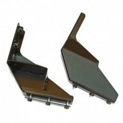 Крепеж РИФ для переднего бампера Nissan Navara D40
