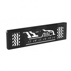 Кронштейн номерного знака для передних бамперов АВС-Дизайн