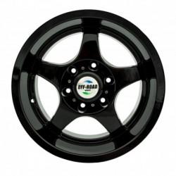 Диск Тойота Ниссан литой черный 6x139,7 8,5xR16 d110 ET-15