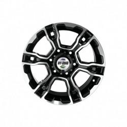 Диск Тойота Ниссан литой черный 6x139,7 8xR16 d110 ET-10