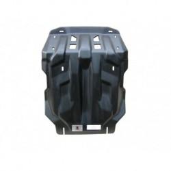 Защита картера, КПП и РК Toyota Hilux 2.5TD/3.0TD 2012+  (композит 10 мм)