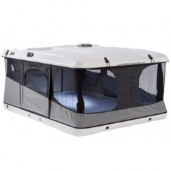 Палатка на крышу автомобиля Grand Raid Evo XXL  белая 160х224 см