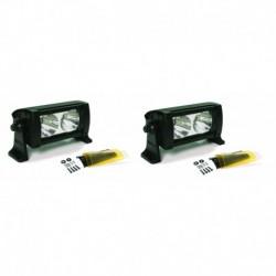 Фара светодиодная Dual 5  противотуманная 2 шт.х 2 LED с фильтром