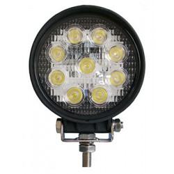 Фара дальнего света РИФ 116 мм 27W LED