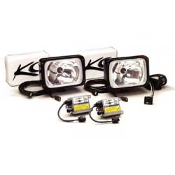 Фары водительского света (ксенон) 6х9 хром