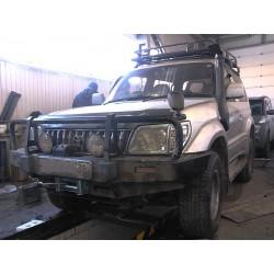 Тюнинг Toyota Land Cruiser Prado 90 (+ установка дополнительного аккумулятора)