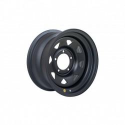 Диск усиленный УАЗ стальной черный (матовый) 5x139,7 8xR16 d110 ET-3 (треуг. мелкий)