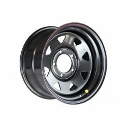 Диск Тойота Ленд Крузер 100/105 стальной черный 5x150 8xR16 d113 ET0 (треуг. мелкий)