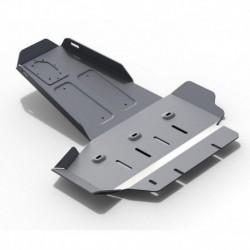 Защита картера + КПП Jeep Wrangler JK 2D, 4D, V - 2.8D,МКПП (2007-2017)