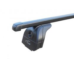 Багажник на крышу с дугами 1,2м  прямоугольными для Honda CR-V IV  (2012+) с интегр. рейл.