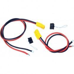 Провода для подключения лебёдки (к-т 90 см и 150 см) с разъемами