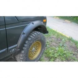 Расширители колёсных арок ВАЗ НИВА 2131 5D(передние 70 мм, задние 70 мм)