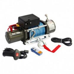 Лебёдка электрическая 12V Electric Winch 12000 lbs 5443 кг (синтетический трос)
